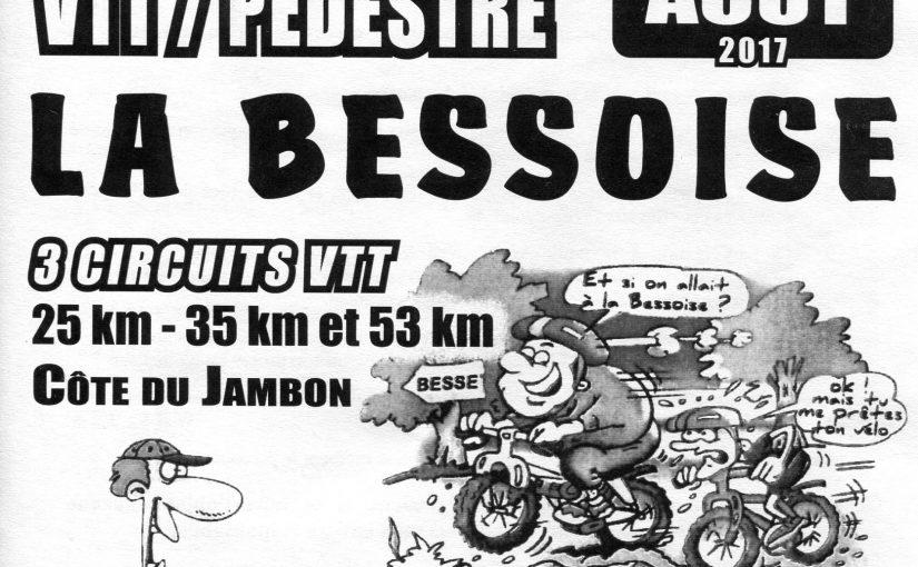 Rando VTT La Bessoise 2017 20/08/17