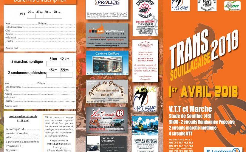 La Transouillagaise (01/04/18)